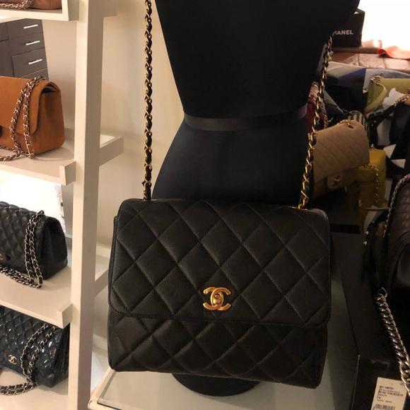 537e6065fcbe CHANEL Bags | Sold Jumbo Caviar Single Flap Crossbody | Poshmark